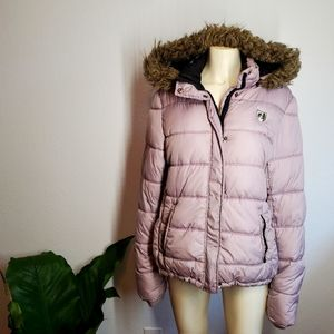 American Eagle Outfitters Lavender Puffer Jacket